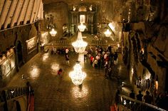 Salt mine in Krakow, Poland -- it was pretty amazing. the stairs down and oh the elevator up.truly an unforgettable experience. Us Travel, Places To Travel, Wieliczka Salt Mine, Travel Memories, Places Ive Been, Beautiful Places, The Incredibles, Krakow Poland, Instagram