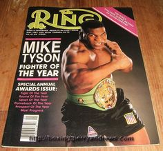 1987 May THE RING boxing magazine MIKE TYSON