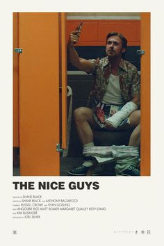 Andrew Sebastian Kwan - The Nice Guys Alternative movie poster Visit my Store - Iconic Movie Posters, Minimal Movie Posters, Minimal Poster, Cinema Posters, Movie Poster Art, Iconic Movies, Old Movies, Film Posters, Poster Wall
