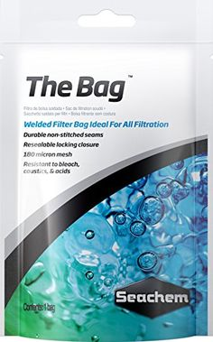 Seachem The Bag Filter Media Bag ** Want additional info? Click on the image.
