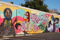 Mural in midtown Sacramento by Tom Spaulding, via Flickr