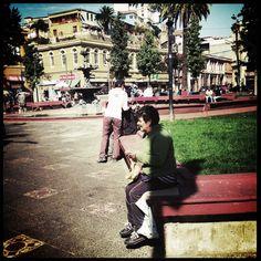 Gentes por Valparaíso (Chile)
