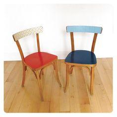 Paire de chaises bistrot -