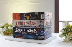 board game cakes | 18-Board Game Groom's Cake - Significant Events of Texas – Event ...