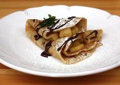 Bezlepkové jablkové palacinky, recept   Naničmama.sk Pancakes, Breakfast, Ethnic Recipes, 3, Lasagna, Morning Coffee, Pancake, Crepes
