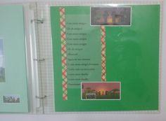 Álbum em cartonagem e scrapbook do Minecraft com 20 plásticos e papel color plus,com todas as páginas decoradas