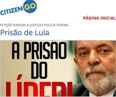 BLOG DO ALUIZIO AMORIM: PETIÇÃO ONLINE PEDE IMEDIATA PRISÃO DE LULA  http://w500.blogspot.com.br/
