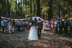 forest ceremony | still love wedding photography