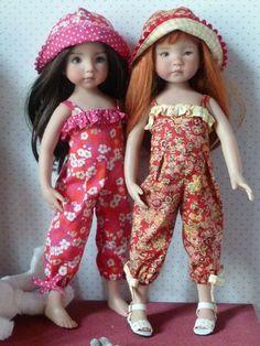 Combinaison estivale pour poupée de 33cm et son patron