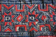 Hmong hand-embroidered batik textiles | Textile Theory