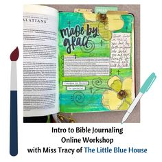 Intro to Bible Journaling Online Workshop