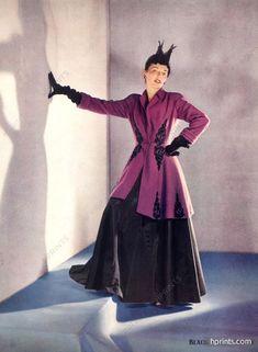 Nettie Rosenstein 1941 Tunic-coat, Horst