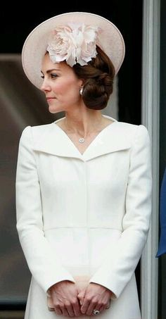 Catherine, Duchess of Cambridge attended the 2016 Trooping The Color.