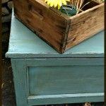 A Simple Before and After {Old Blue Chest}