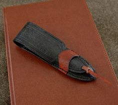 Handmade Leather Single Fountain Pen Sleeve Case, 12 colors available