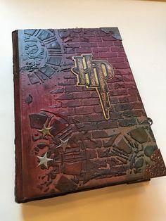 Harry Potter Inspired Scrapbook HARD cover Album/Junk