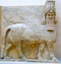 A lamassu from Khorsabad