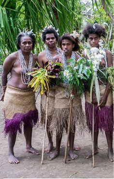 malekula tribe woman (vanuatu)