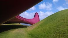 Yet another angle of this ginormous piece of art.  http://www.matakanacountry.co.nz/home/home/ #Matakana #New Zealand #travel #art #sculptures