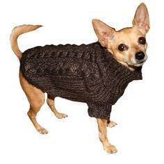 Angora Sweater S Brown