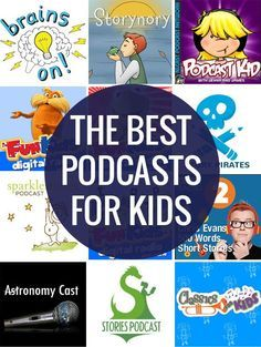 Ten of the Best Podcasts for Kids Podcasts are great because you get a new episode every week, or month, so there is always something new to listen to. Plus they cover such a broad range of topics and interests so you can find something for everyone. Podcast Ingles, Learning Activities, Kids Learning, Quiet Time Activities, Family Activities, Podcasts Best, Kids And Parenting, Parenting Classes, Learning
