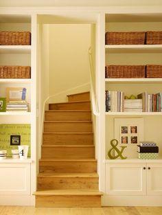 Bilderesultat for shaker built-in bookshelf
