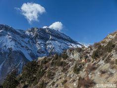 Descente du Tilicho Tal, direction Kangsar #annapurnatrek #nepal #grimpisme