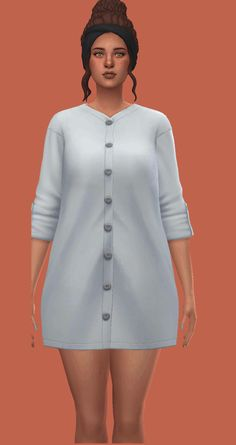 Charlotte | a simple + casual dress An edit of one... Sims 4 Cc Finds, Sims Cc, Maxis, Full Body, Swatch, Charlotte, Lifestyle, Simple, Casual