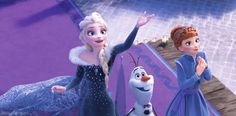 So excited for frozen Olaf adventure