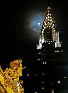 Chrysler and the Moon pumpkin   by Graham Cloke
