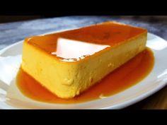 Budinca de caramel - YouTube Flan, Cheesecake, Desserts, Youtube, Caramel, Pudding, Tailgate Desserts, Creme Brulee, Deserts