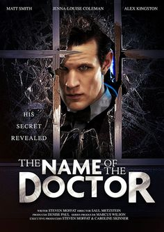 Series 7 Finale Title Revealed - The Doctor's NAME!!