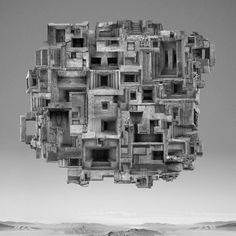 Composite photo / Borg cube?