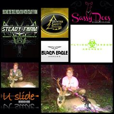 Friends please join us in congratulating Sassy Does Prostaffer from Arkansas- Samantha on her FIRST BUCK BOW KILL!! He's a beauty Sam and we are all so very proud of YOU!!  Big thanks to our sponsors: #Steady Form #Black Eagle Arrows #Flying Arrow Archery #Frigid Forage #U-Slide Bow Holder for helping make Samantha's hunt so successful!  SASSY DOES ON THE HUNT❤️ #sassydoes #realtree #camo #hunt