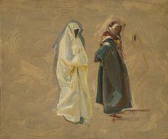 John Singer Sargent - Study for Prophets - c. 1895