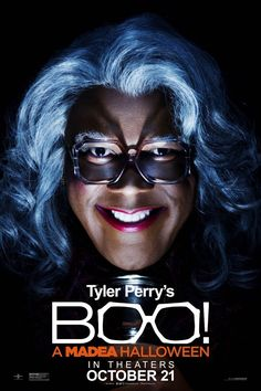 BOO! A MADEA HALLOWEEN movie poster I cant wait for this movie to come out!!