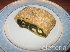 Γεύση Ελευθερίας: Σπανακομπουρεκάκια Spanakopita, Homemade, Snacks, Ethnic Recipes, Food, Appetizers, Home Made, Essen, Meals