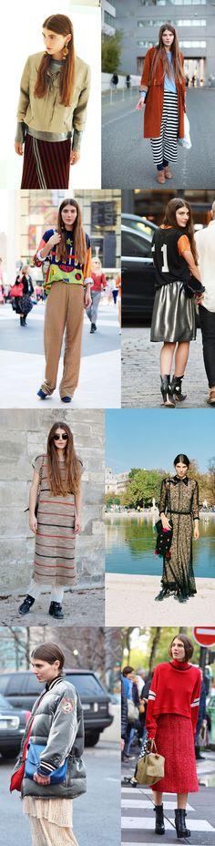 Ursina Gysi! love her style, she is genius!