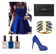 """""""Untitled #28"""" by zanna4 ❤ liked on Polyvore featuring GUESS, Lancaster and Michael Kors"""