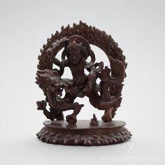 WHITE DZAMBALA COPPER STATUE, 3 INCHES #inner #outer #wealth #dragon  https://www.vajrasecrets.com/dzambala-statue-copper-3-inches