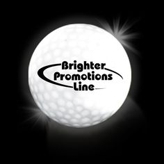 White Lumi Ball LED Golf Balls - promotional products corporate gifts  This high tech NOVELTY golf ball will provide up to a total of 36 hours of lighted fun and excitement when you take the game of golf to the evening skies. Once the ball is activated the 2 high powered LED lights will illuminate the ball for 8 - 10 minutes until the automatic shutoff turns off the lights to preserve battery life.