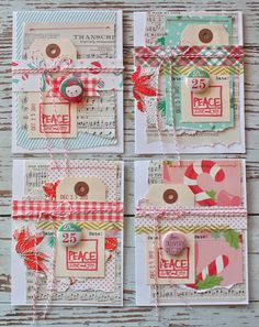 ADORABLE Christmas Cards!!! ♥ | Michelle Wooderson
