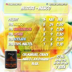 Mixture - Mango (сlone - 10 ml).