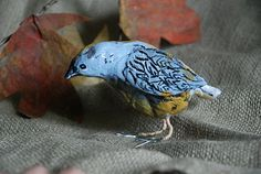 Paper Mache Birds, nice tactile project for special needs.