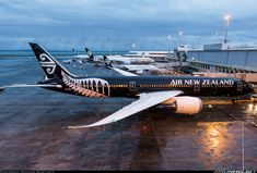Air New Zealand Boeing Dreamliner ZK-NZE at Auckland International airport AKL - aircraft picture Air New Zealand, A380 Aircraft, Passenger Aircraft, Commercial Plane, Commercial Aircraft, Illinois, Boeing 787 9 Dreamliner, Aviation World, Airline Logo