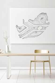 Proudly South African flag captured in intricate lines of hand drawn lines to create a contemporary work of art. South African Decor, South African Flag, South African Design, African Home Decor, African Artwork, African Art Paintings, Afrika Tattoos, African Art Projects, African Patterns