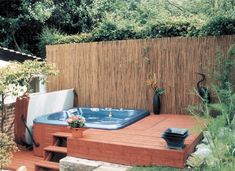 creative hot tubs in landscape ideas - Google Search
