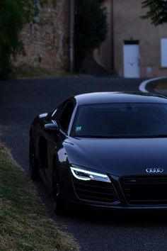 Black on black Audi is a nice car when I'm just cursing around the streets looking fancy