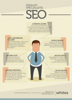 Idealny specjalista SEO #seo #marketing #infografika #preser