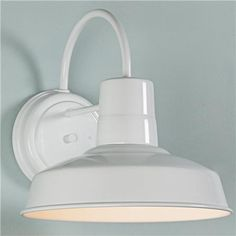 great outdoor light - but you need an overhang area!